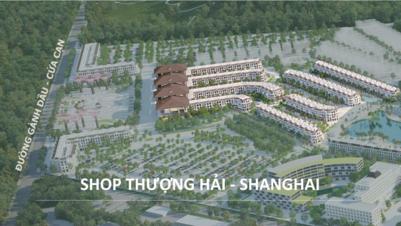 Tiểu khu Shanghai Grand World Phú Quốc