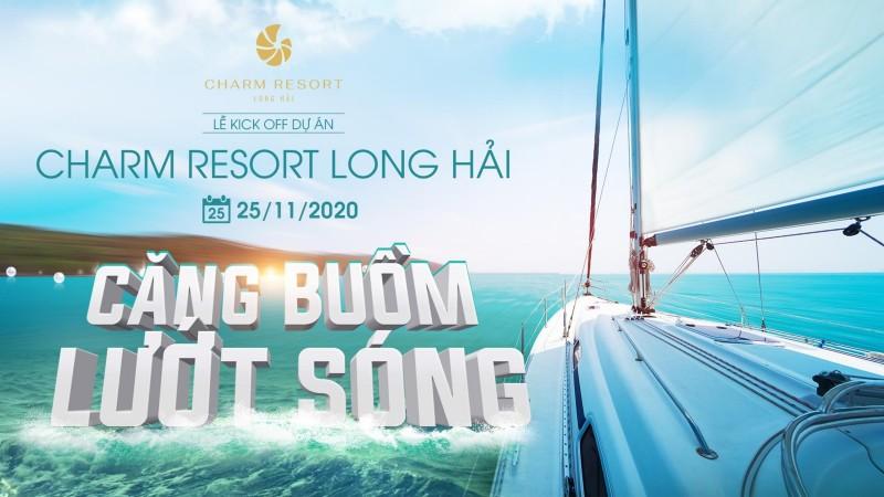 Charm Resort Long Hải: Căng buồm Lướt sóng